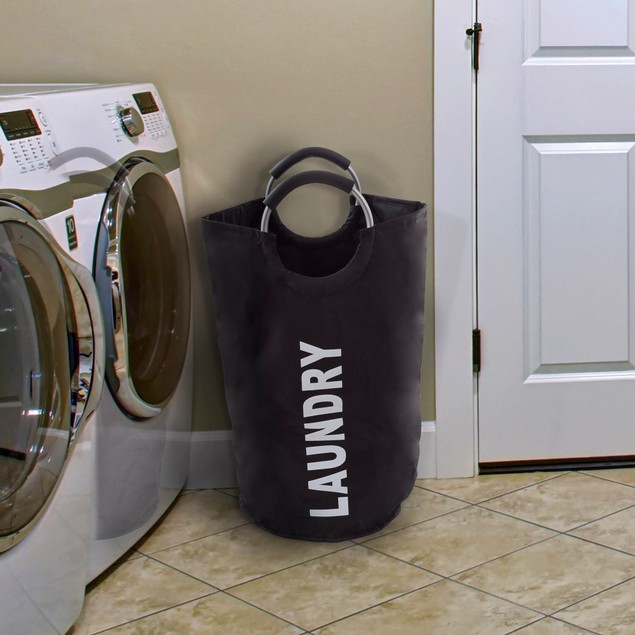 Laundry Hamper, Large Collapsible Clothes Basket