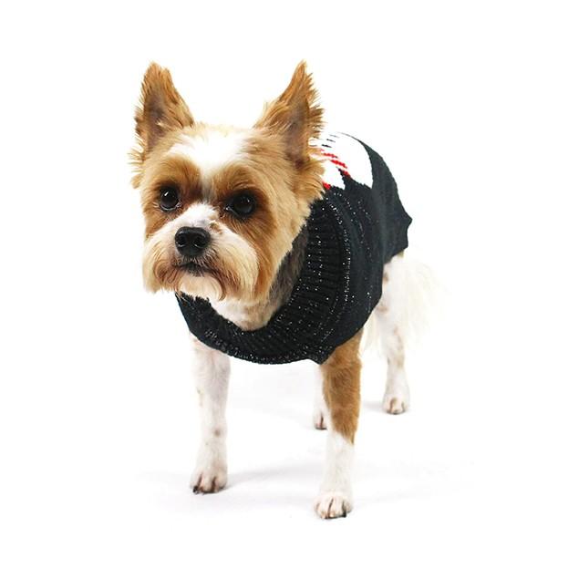 Midlee Winter Snowman Dog Sweater