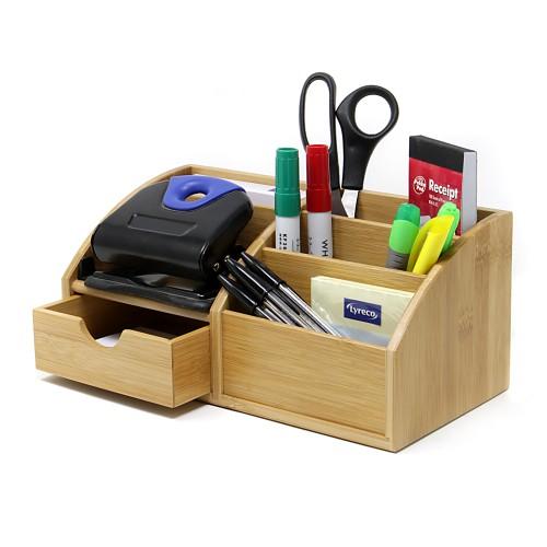 Bamboo Desk Organiser | MandW