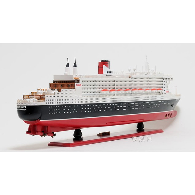 """Old Modern Handicrafts """"Queen Mary II"""" Ship, Large"""