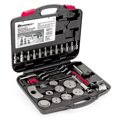 Powerbuilt Master Disc Brake Service Kit - 648622