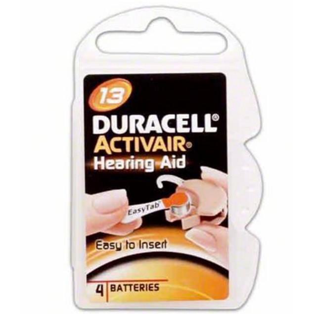 Duracell Activair Size 13 Zinc Air Hearing Aid Batteries (40 pack)