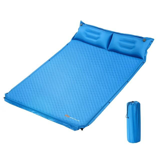 GoPlus Self-Inflating Outdoor Mat w/ Pillows