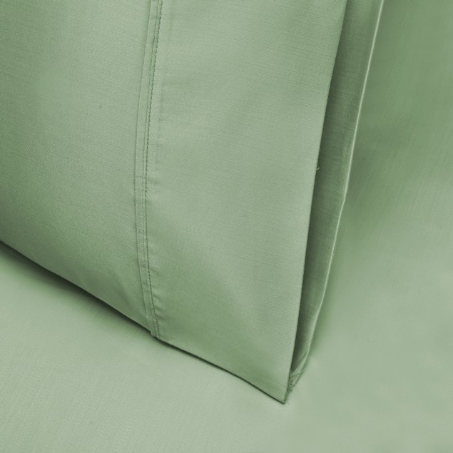 1000 Thread Count Tencel Polyester Solid Pillowcase Set