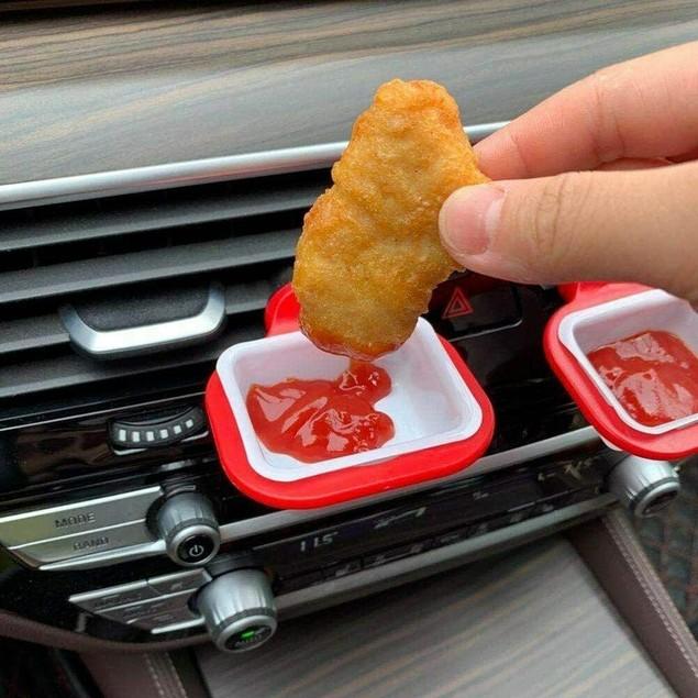 Car Dipping Sauce Holder