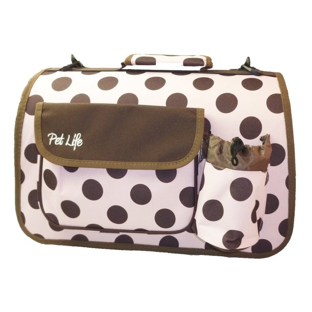 Airline Approved Folding Zippered Casual Pet Carrier