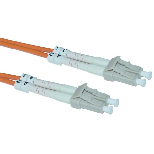 Fiber Optic Cable, LC / LC, Multimode, Duplex, 62.5/125, 10 meter (33 foot)