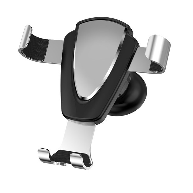 Car Phone Support Frame With Metal Gravity Outlet Buckle Type Car Navigation Bracket