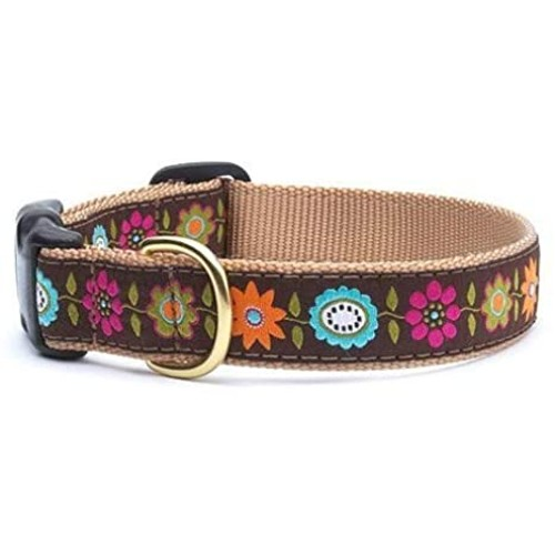 """Up Country Bella Floral Collar, X-Large 21-27"""""""
