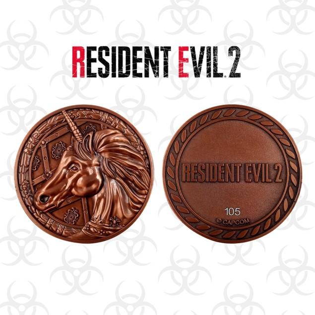 Unicorn Resident Evil 2 Limited Edition Metal Replica R.P.D. Medallion