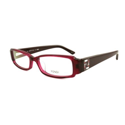 Fendi Womens Eyeglasses FF957R 628 Strawberry 30 53 16 Frames Rectangle