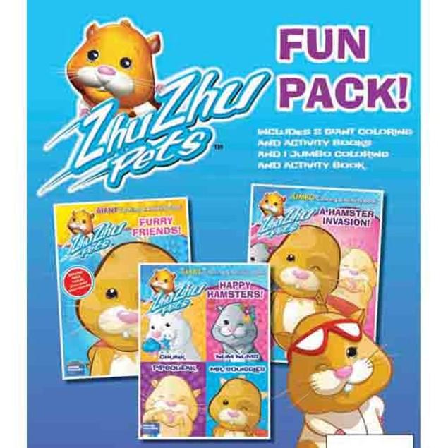 Zhu Zhu Pet Fun Pack Book, Kids Books by Modern Publishing Company