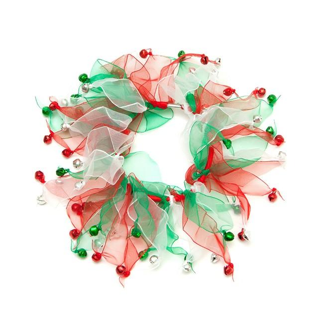 Midlee Christmas Jingle Bells Decorative Dog Collar