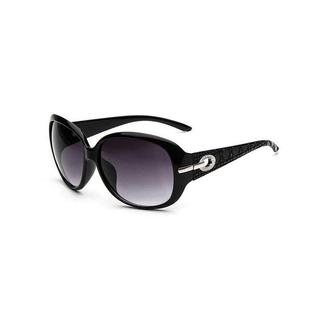 Novadab Oversize Shield Shape Vintage Sunglasses