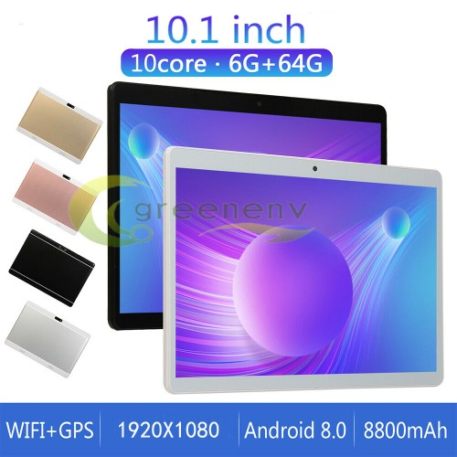 Android 8.0 Ten Core 10.1 Inch HD Game Tablet Computer PC GPS Wifi Dua