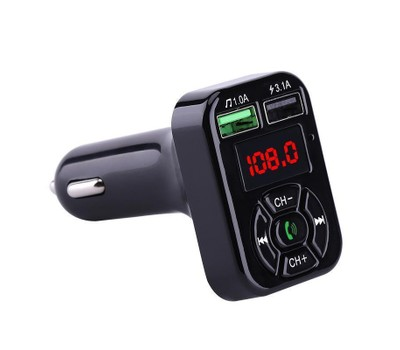 Bluetooth FM Transmitter and Car Charger Was: $69.99 Now: $9.99.