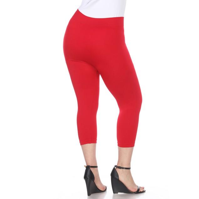 Plus Size Super Soft Capri Leggings - 7 Colors