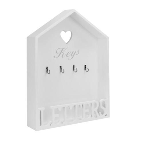 Letter and Key Rack | MandW
