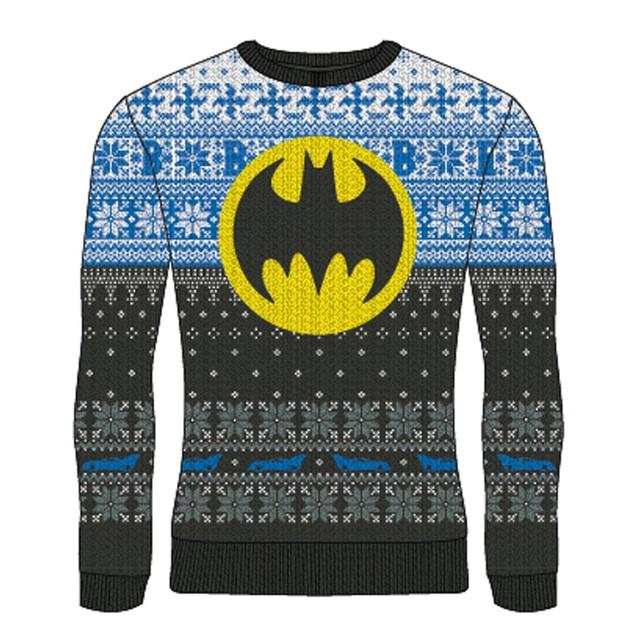 DC Batman - Logo Unisex Christmas Jumper Medium