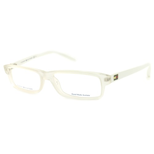 Tommy Hilfiger Women Eyeglasses TH 1061 HKN Crystal White Full Rim 52 14 140