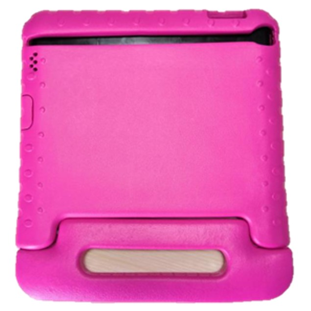 IPAD PROTECTIVE CASE Durable Handle Bumper Stand Cover Shockproof Pink