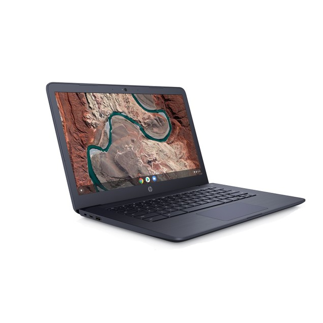 """HP Chromebook 14-DB0043 14"""" 32GB AMD A4-9120 ChromeOS,Ink Blue (Used - Good)"""