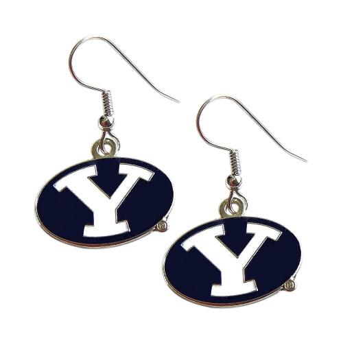 BYU Cougars Y Logo Dangle Logo Earring Set Charm Gift