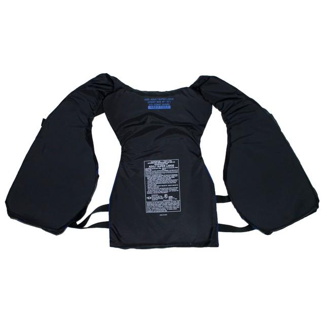 Surf Gear US Coast Guard Approved Lightweight Adult Life Vest, Blue