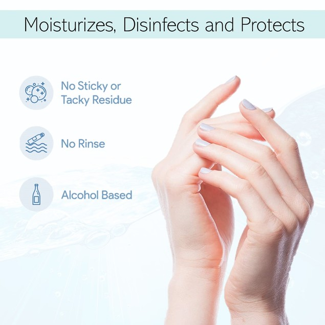 Hand Sanitizer, 70% Ethyl Alcohol, Made in USA - 12 Fl Oz (355 ml)