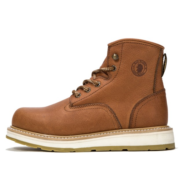 ROCKROOSTER Men's Work Boots Soft Toe Comfortable Shoes