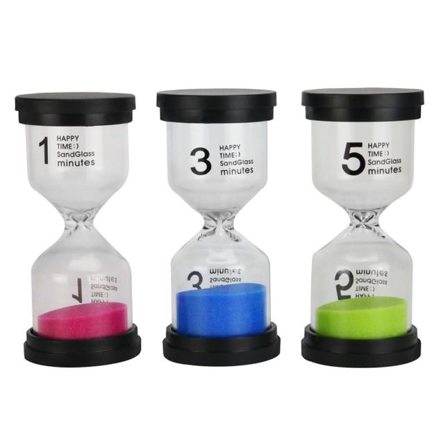 Set 6 Sand Timers | Pukkr