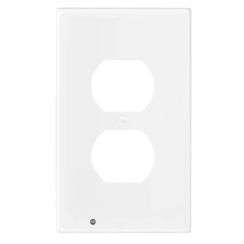 US Wall Outlet Cover Wall Plate with 3-LED