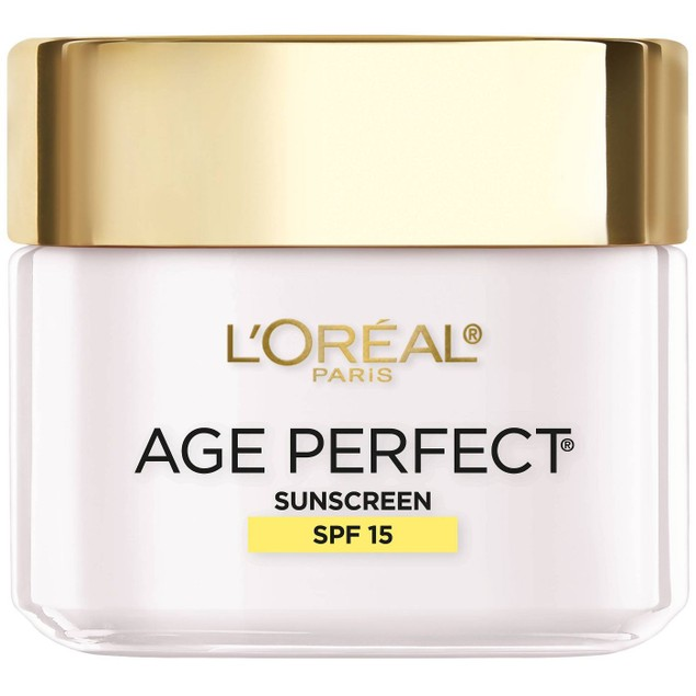 L'Oreal Paris Age Perfect Anti-Sagging Even Facial Tone Moisturizer SPF15,