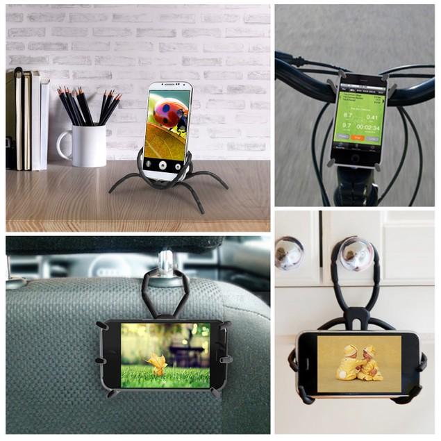 Spider Phone Holder Phone Selfie Remote Cradle