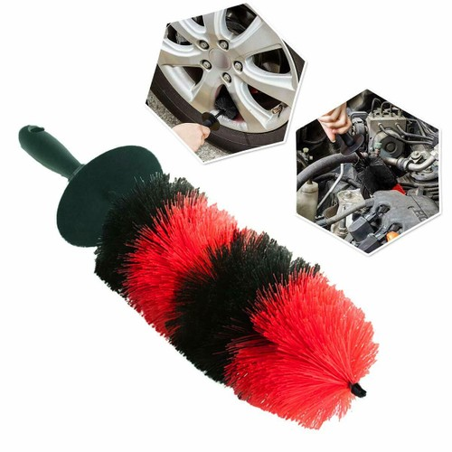 Zone Tech Auto Motorcycle Wheel Rim Tire Cleaning Brush Detailing 18""