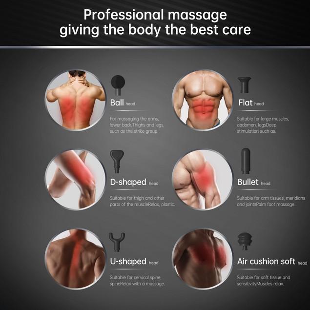 Percussion Handheld Deep Tissue Massager/Massage Gun