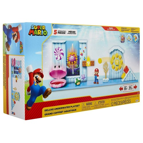 Nintendo Underwater (Super Mario) Deluxe Playset