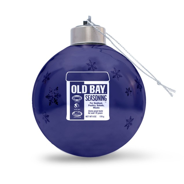 Old Bay Can Ornament