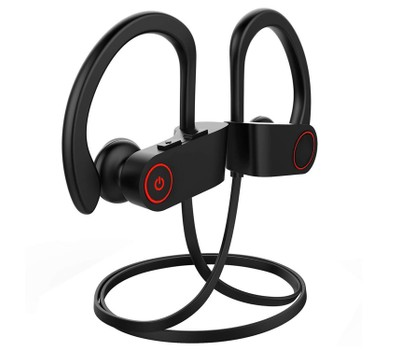Wireless V4.1 Neck Headset IPX7 Waterproof Sport Bluetooth Headphones Was: $39.99 Now: $24.99.