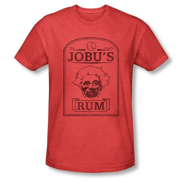 Jobu's Rum T-Shirt Major League Movie Baseball Pedro Cerrano Jobu