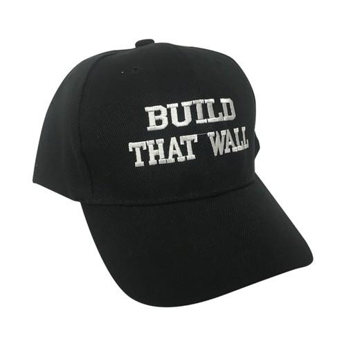 Build That Wall Donald Trump Baseball Cap