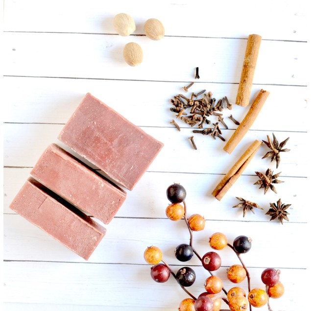 Home for the Holidays - Cranberry Soap