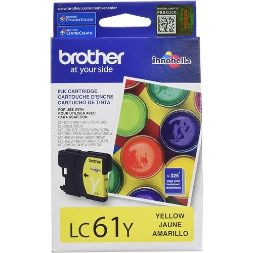 Brothers BRTLC61Y - LC61Y LC-61Y Innobella Ink