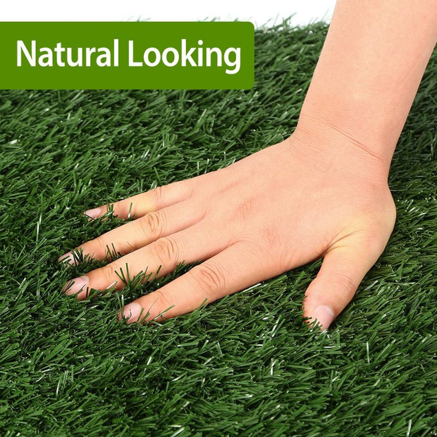 """23.23x18.12"""" Replacement Grass Mat For Pet Potty Tray Replacement Grass Only"""