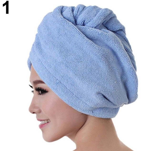 Women Hair Absorbent Quick Drying Towel