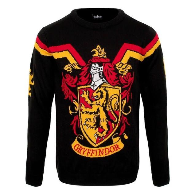Harry Potter - Gryffindor Crest Unisex Christmas Jumper X-Large