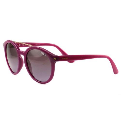 Vogue Sunglasses VO5133-S 25318H Opal Violet/Violet Gradient Plastic 53 20 140