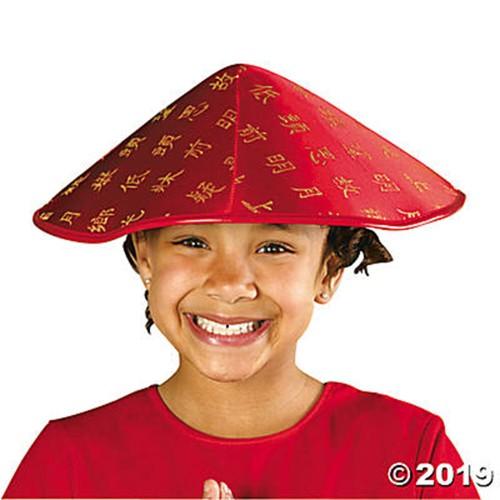 Satin Asian Hat
