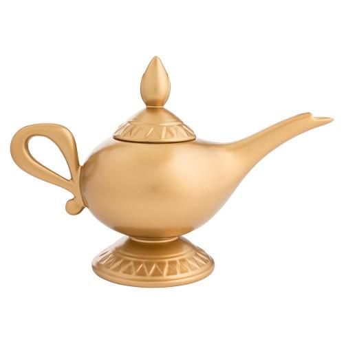 Disney Aladdin Genie Lamp Sculpted Ceramic Teapot