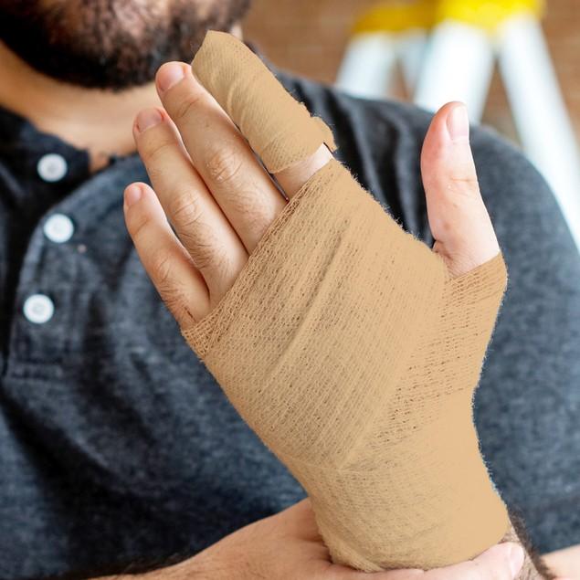 8-Pack Bundle California Home Goods Self Adherent Cohesive Wrap Bandages